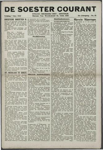Soester Courant 1945-12-07