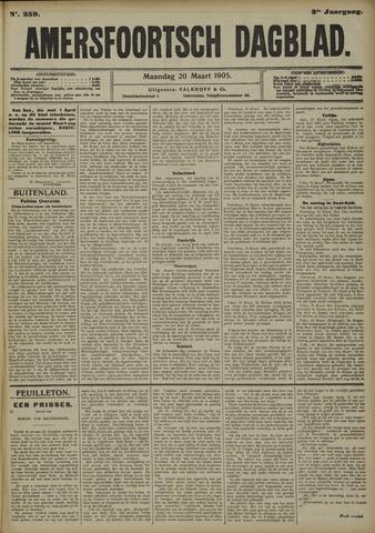 Amersfoortsch Dagblad 1905-03-20