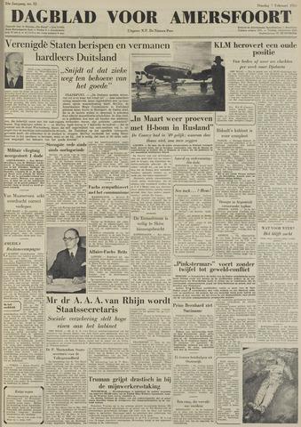 Dagblad voor Amersfoort 1950-02-07