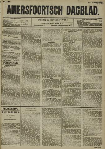 Amersfoortsch Dagblad 1904-11-22