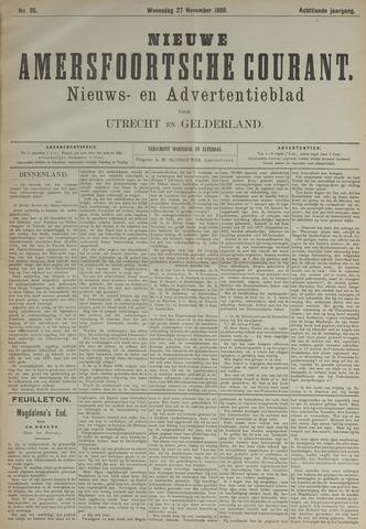 Nieuwe Amersfoortsche Courant 1889-11-27