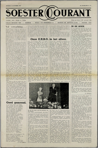 Soester Courant 1952-10-28