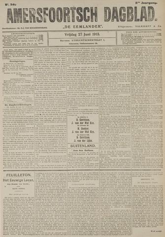 Amersfoortsch Dagblad / De Eemlander 1913-06-27