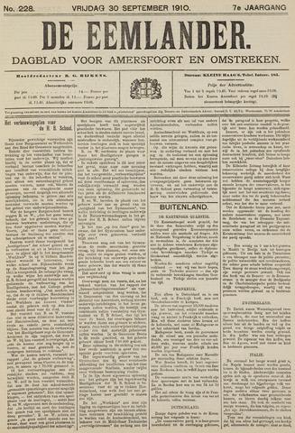 De Eemlander 1910-09-30