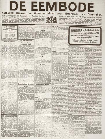 De Eembode 1916-03-31
