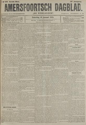 Amersfoortsch Dagblad / De Eemlander 1915-01-16