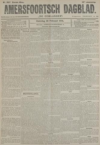 Amersfoortsch Dagblad / De Eemlander 1914-02-28