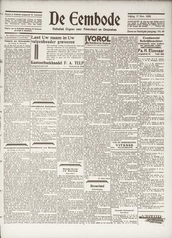 De Eembode 1933-11-17