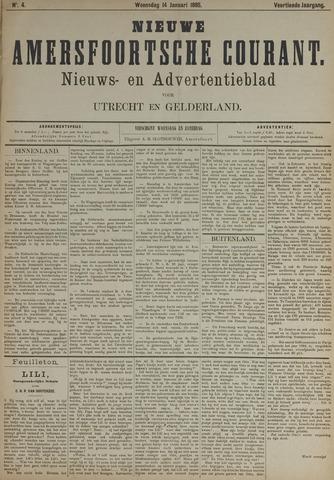 Nieuwe Amersfoortsche Courant 1885-01-14