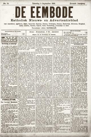 De Eembode 1893-09-09
