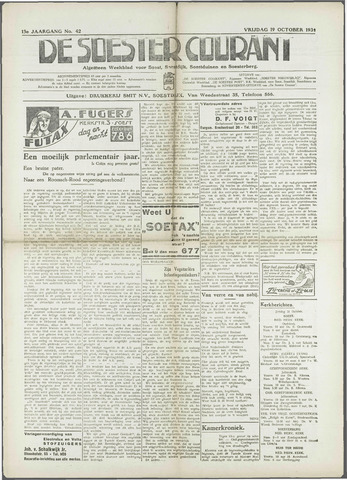 Soester Courant 1934-10-19