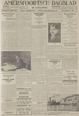 Amersfoortsch Dagblad / De Eemlander 1932-01-13