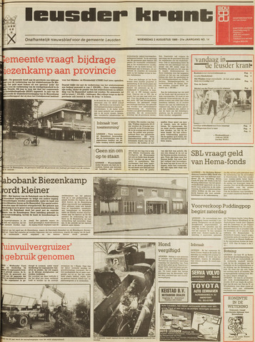 Leusder Krant 1989-08-02