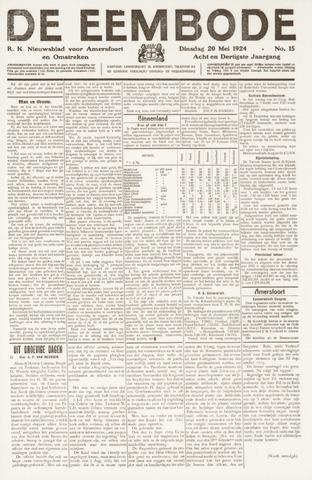 De Eembode 1924-05-20