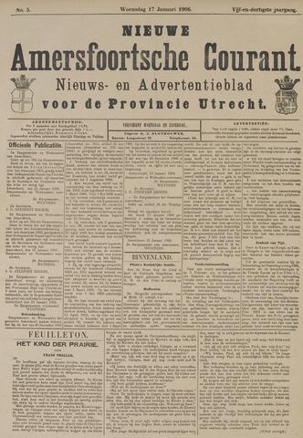 Nieuwe Amersfoortsche Courant 1906-01-17