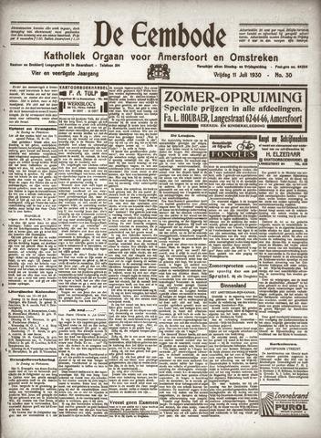 De Eembode 1930-07-11