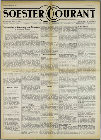 Soester Courant 1955-02-01
