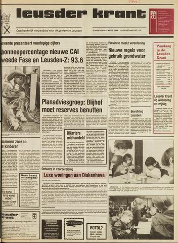 Leusder Krant 1984-04-19