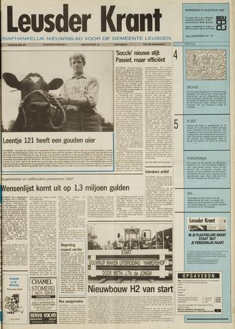 Leusder Krant 1992-08-19