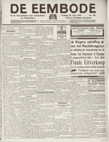De Eembode 1924-06-27