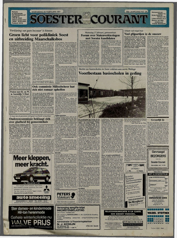 Soester Courant 1991-02-20