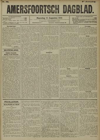 Amersfoortsch Dagblad 1910-08-15