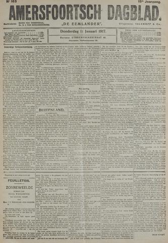 Amersfoortsch Dagblad / De Eemlander 1917-01-11
