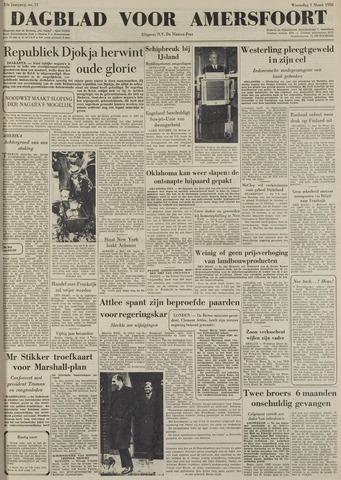 Dagblad voor Amersfoort 1950-03-01