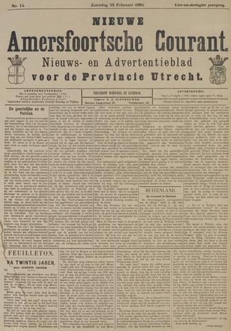 Nieuwe Amersfoortsche Courant 1905-02-18