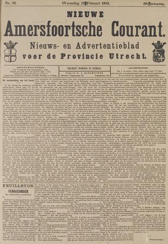 Nieuwe Amersfoortsche Courant 1913-02-12