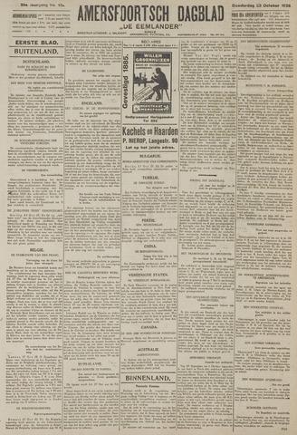 Amersfoortsch Dagblad / De Eemlander 1926-10-28