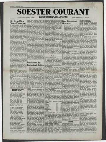 Soester Courant 1949-10-14