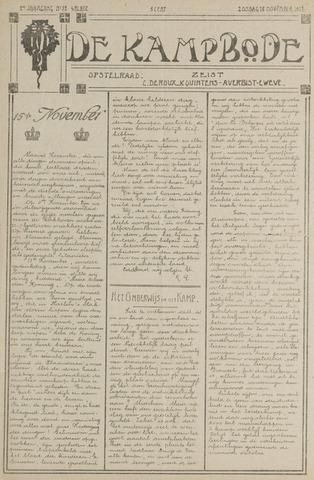 De Kampbode 1917-11-18