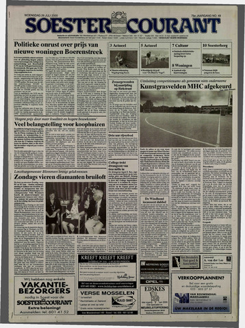 Soester Courant 2000-07-26