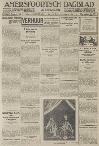 Amersfoortsch Dagblad / De Eemlander 1930-11-04