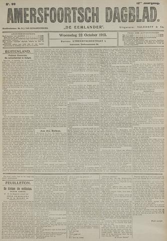 Amersfoortsch Dagblad / De Eemlander 1913-10-22