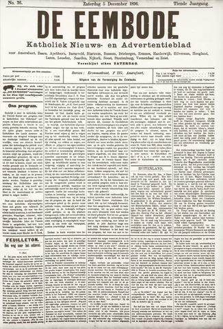 De Eembode 1896-12-05