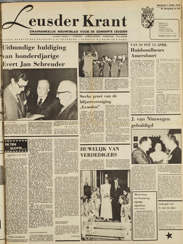 Leusder Krant 1972-04-07