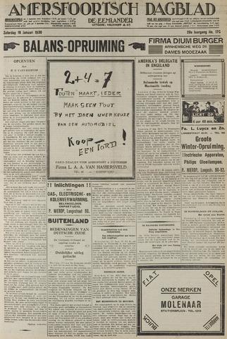 Amersfoortsch Dagblad / De Eemlander 1930-01-18