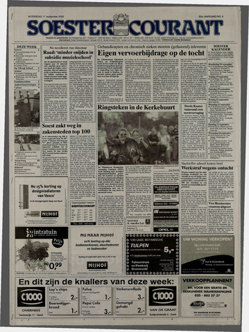Soester Courant 2003-09-17
