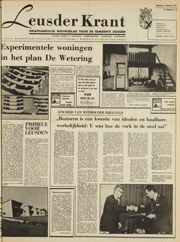 Leusder Krant 1972-12-07