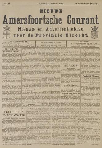 Nieuwe Amersfoortsche Courant 1904-11-02