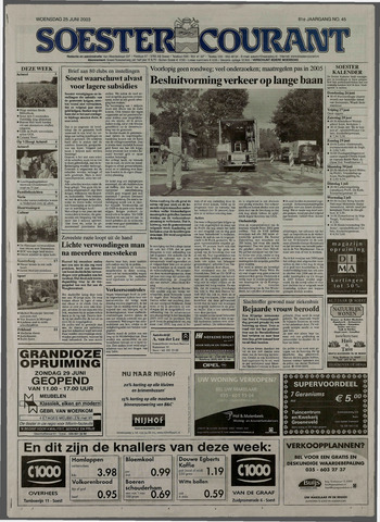 Soester Courant 2003-06-25