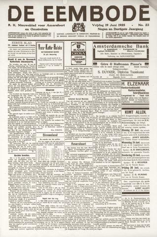 De Eembode 1925-06-19