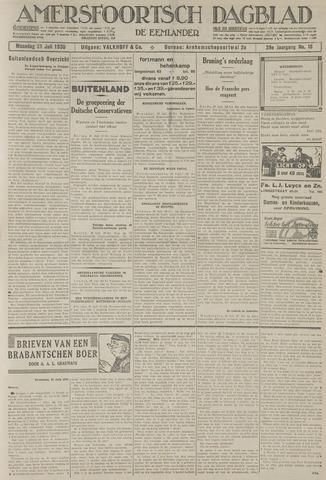 Amersfoortsch Dagblad / De Eemlander 1930-07-21