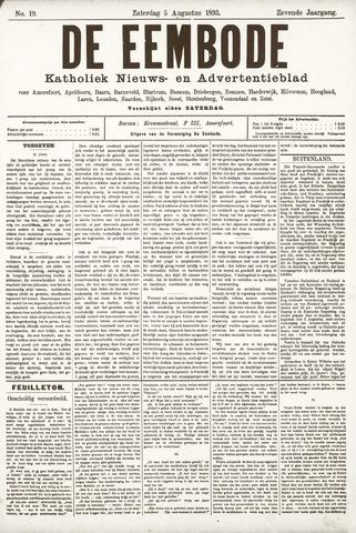 De Eembode 1893-08-05