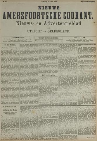 Nieuwe Amersfoortsche Courant 1886-06-12