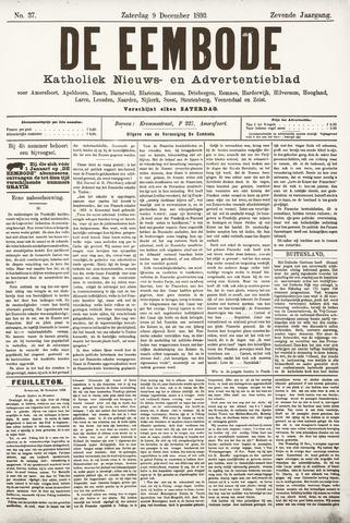 De Eembode 1893-12-09