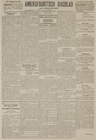 Amersfoortsch Dagblad / De Eemlander 1925-04-30