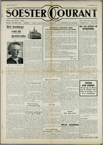 Soester Courant 1962-04-20